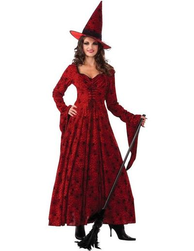 Adult Crimson Witch Costume