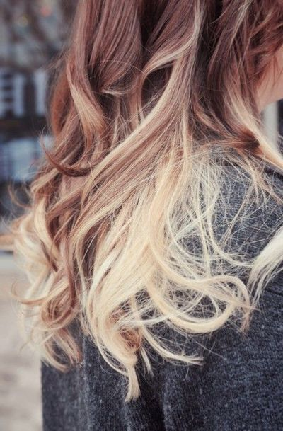 light brown to blonde ombre hair tips juxtapost