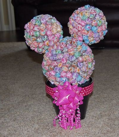 Diy Minnie Mouse Party Decorations Diy Minnie Mouse Dum Dum