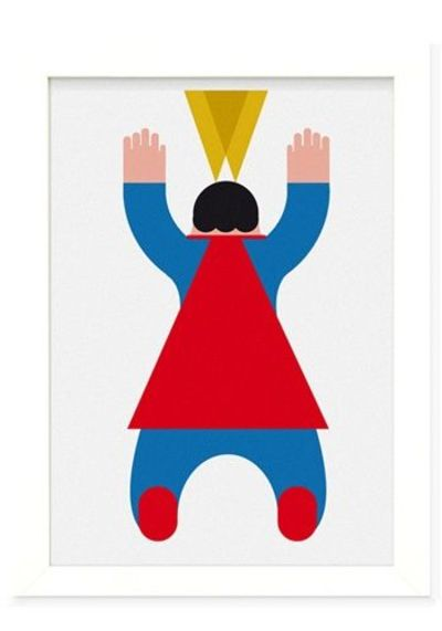 Fat Super Man limited edition of 15. Fine paper quality print. 200gsm Dimension 50X70 cm