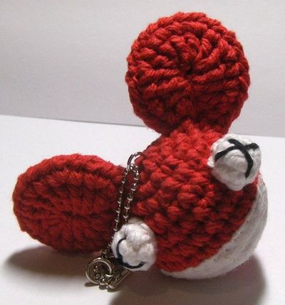 Crochet Patterns Keychain : Deadmau5 head keychain - free crochet pattern #amigurumi / crochet ...
