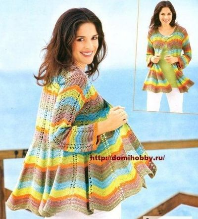 Knitting Patterns Summer Jackets : Summer Jacket free knitting pattern / crochet ideas and tips - Juxtapost