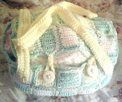 Free pattern Ravelry: #3 Single Crochet Diaper Bag pattern ...