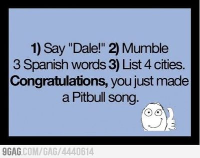 How to make your own Pitbull song / funny signs - Juxtapost