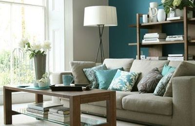 gray and teal living room for the home juxtapost