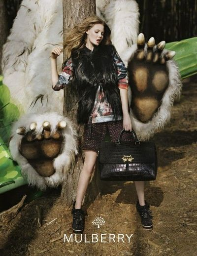 Mulberry Autumn Winter 2012 campaign, shot by Tim Walker #fashion #photography #fantasy // pinned by