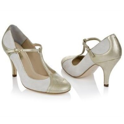 Art Deco Bridal Shoes Rachel Simpson New Collection - Emily