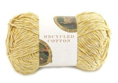 Recycled Cotton Yarn from Lion Brand Yarn