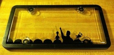 make your own mst3k license plate holder awesome