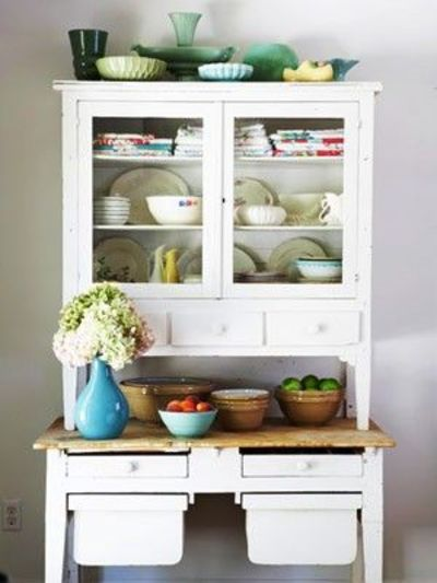 vintage kitchen hutch / for my kitchen - juxtapost