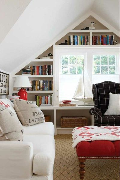 Look At This Cute Attic Room Someday In Your Future For