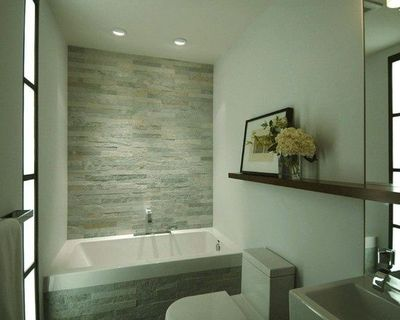 Grey and green bathroom design bath ideas juxtapost for Green and gray bathroom designs