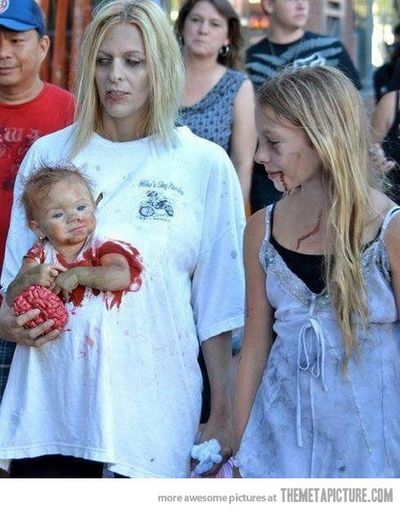 Cutest Zombie Mommybaby Costume Ever Halloween Time Juxtapost