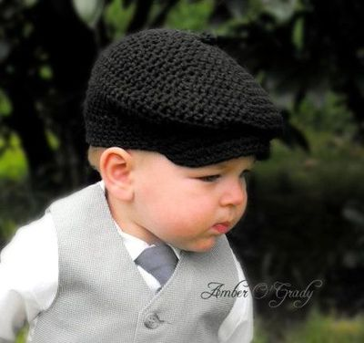 Crochet Newsboy Hats For Baby Only New Crochet Patterns