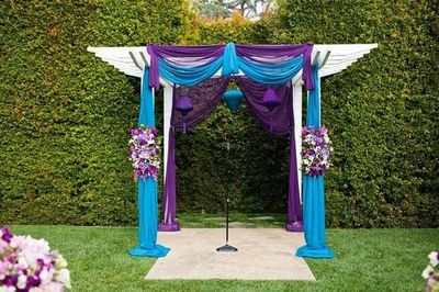 Purple Amp Teal Wedding Ideas