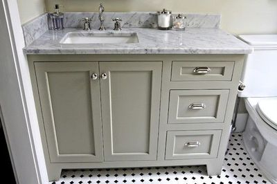 Innovative Marble Top 48 In Bathroom Vanity  Free Shipping Today  Overstock