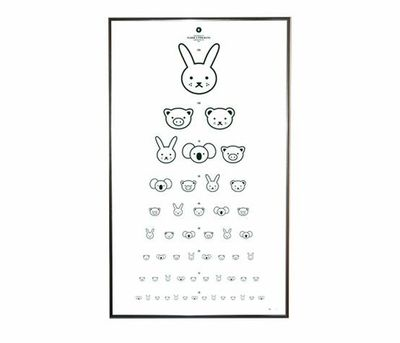 Adorable Eye Chart Preschool Items Juxtapost