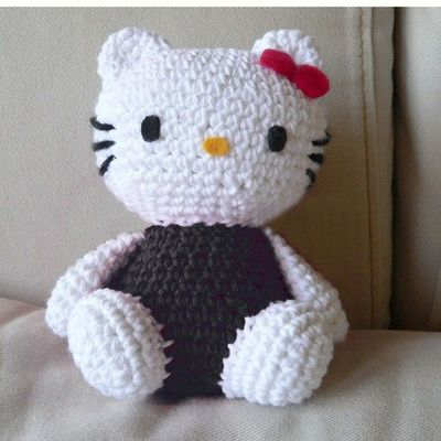 Free Pattern Crochet Hello Kitty : #Crochet Patterns - Free #Crochet Patterns #HELLO KITTY ...