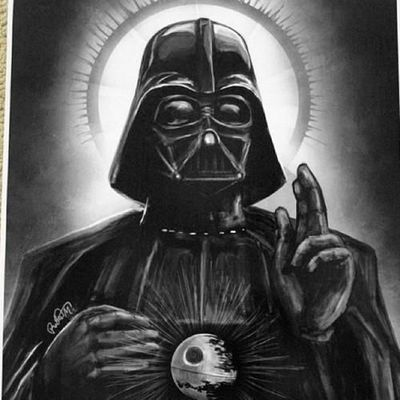 Vader of the exploding death star?