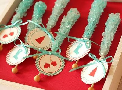 Rock candy for Christmas