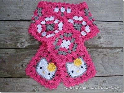 CROCHET GRANNY SQUARE PONCHO PATTERN - Crochet — Learn How to