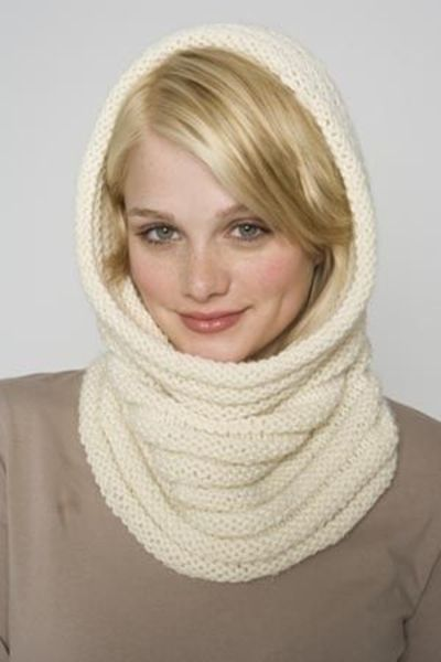 Free Knitting Pattern: Luxury Cowl / Hood / knits and kits - Juxtapost