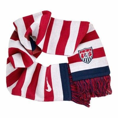 nike u s soccer usa scarf click to enlarge knits and