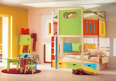 Calico Playhouse Bed