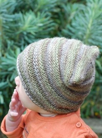Knitting Pattern Wooly Hat : Woolly Wormhead - Tubey - Hat knitting pattern for babies / baby time! - Juxt...