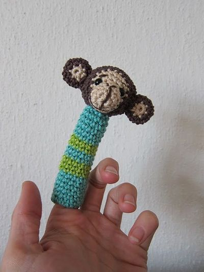 Free Monkey Finger Puppet Pattern Crochet Ideas And Tips Juxtapost