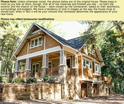 carolina craftsman cottage house plan for the home