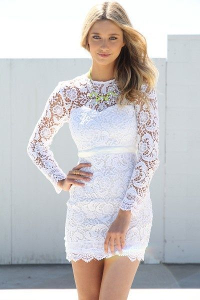 Lace Dress for Engagement