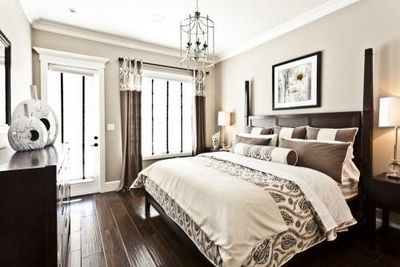 Good Brown And Cream Bedroom