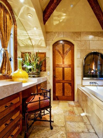 Mediterranean bathroom - Mediterranean bathroom design ...