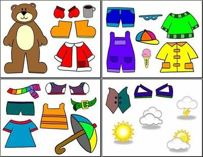 Weather Bear for the kids