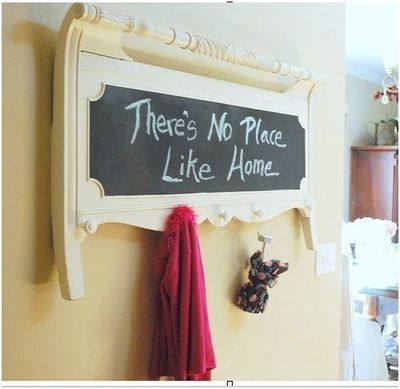 Adorable entry/message board