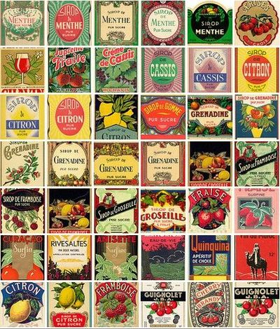 Awesome Vintage Labels For Old Jars And Vases Nice Signs Juxtapost