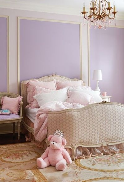 Pretty Lavender Bedroom A Soft Palette And Elegant