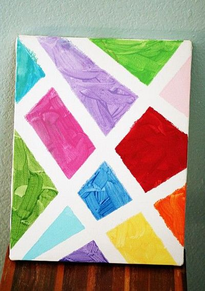 Easy Acrylic Painting To Do With Kids School Planning Juxtapost