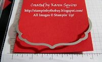 how to use framelettes to create an edging