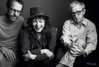 Ethan Coen, Elaine May, and Woody Allen
