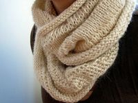 Cream on Cream Cowl
