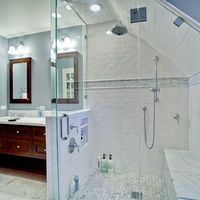 Ceramic Tile Walk In Showers Designs Design, Pictures, Remodel, Decor and Ideas