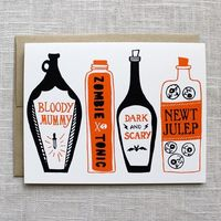 Pick Your Poison Halloween Card