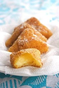 Leche Frita or Fried Milk is a centuries old Spanish dessert.