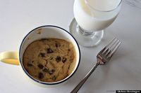 cookie in a cup