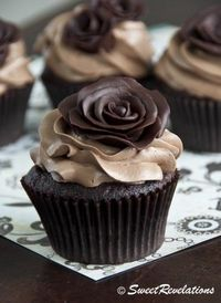 Dark Modeling Chocolate - How to Make Roses