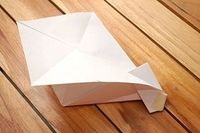 Make a Flapping Paper Airplane