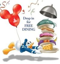 FREE DINING at #Disney World is back!!!