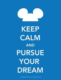 #Disney #KeepCalm #Blue #MickeyEars #Quotes